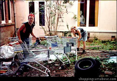 In recent years Bob Crane has been careful to not allow himself to be photographed. This image was recovered from a German cult known as <em>Über Einkaufenkarrenverführer</em>. Mr. Crane was abroad, traveling under an alias, and documenting the cutting edge techniques used by the group for Shopping Cart torture. Computer analysis has confirmed the presence of his reflection on the window.